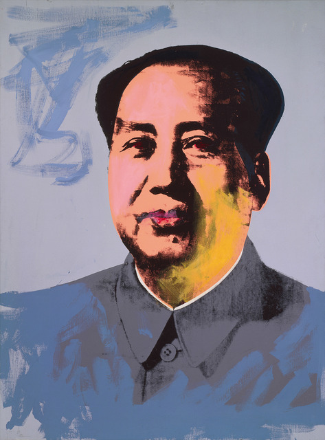 , 'Mao,' 1972, National Gallery of Victoria