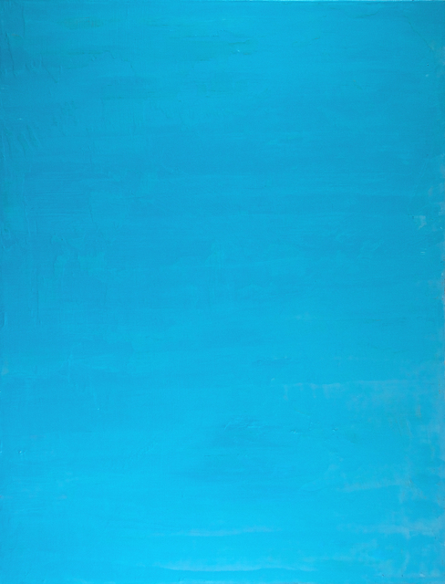 , 'Knived Blue,' 2015, Carter Burden Gallery
