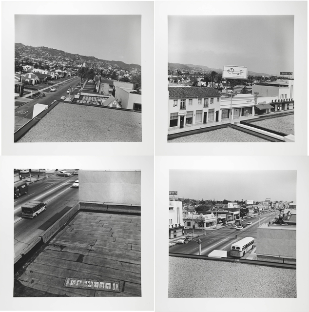 Ed Ruscha, 'Rooftops', 1961/2004, Carolina Nitsch Contemporary Art