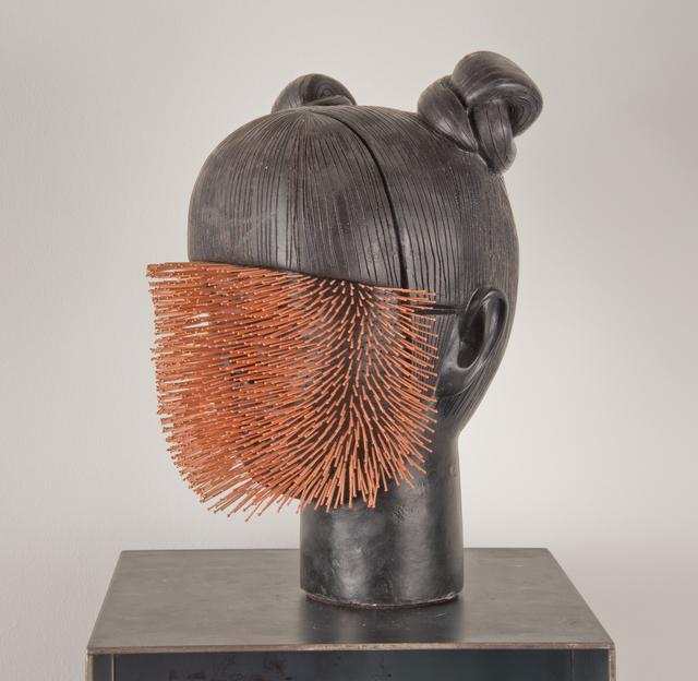 , 'Imablance #3 Huiyun (needles),' 2015, Simon Studer Art