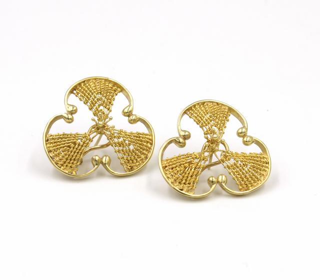 Mary Lee Hu, 'Earrings #204', Facèré Jewelry Art Gallery