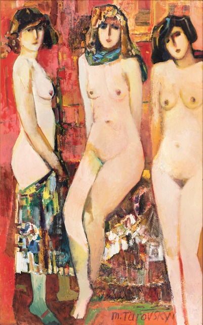 , 'Three Graces (Stolen Muses),' ca. 1997, Vail International Gallery