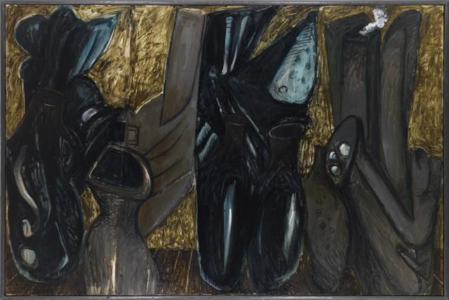 """, 'Spanische Serie: """"Jars"""" Nr. 1 von 2,' 1988, Galerie Michael Haas"""