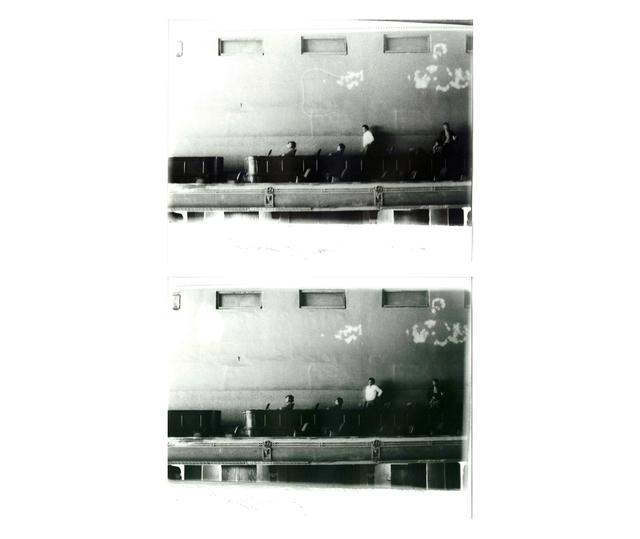 Miguel Angel Rojas, 'Camisa blanca (Diptych)', 1979, Photography, Gelatin silver print, Herlitzka + Faria