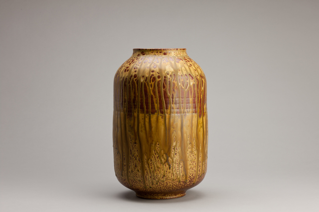 Brother Thomas Bezanson, 'Vase, elm ash glaze', n/a, Pucker Gallery