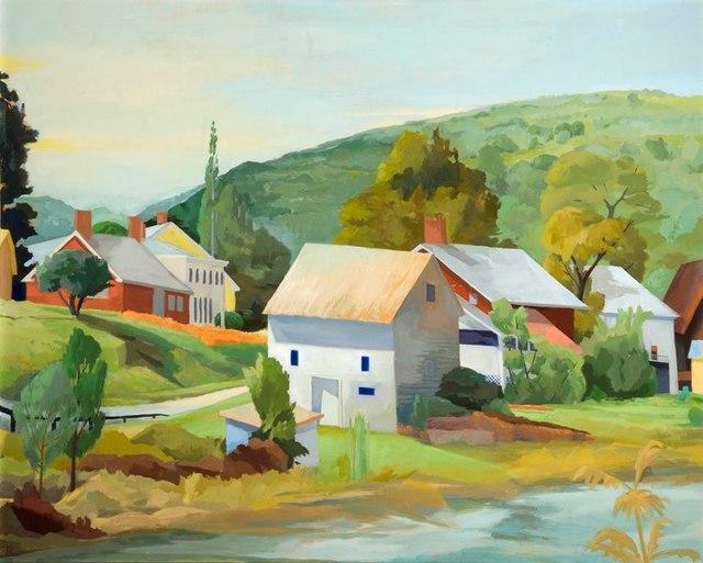 Celia Reisman, 'Tunbridge Facing South', 2018, BigTown Gallery
