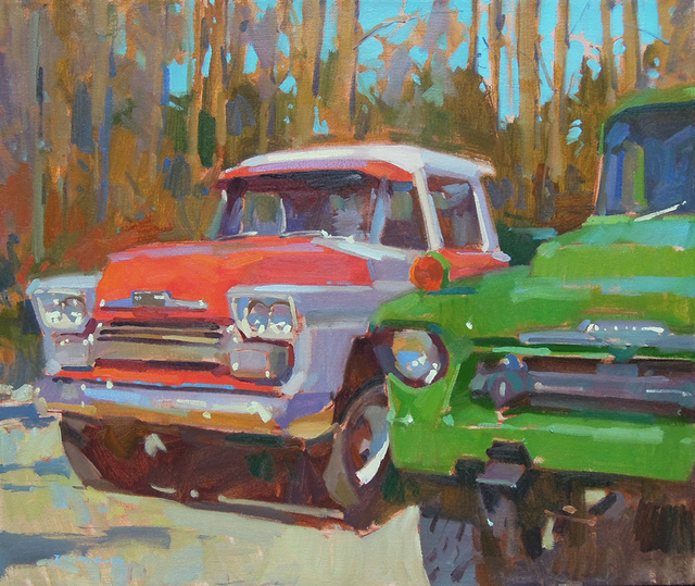 , 'Antique Chevys,' , Greenhut Galleries