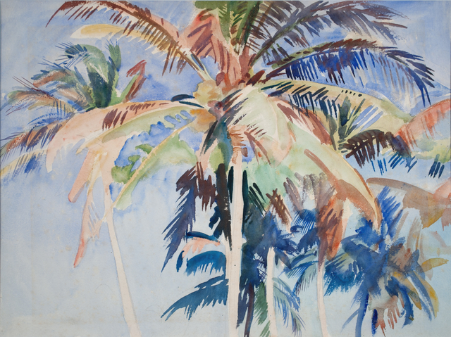 , 'Palms Against the Sky (Vizcaya, Miami),' 1917, Adelson Cavalier Galleries