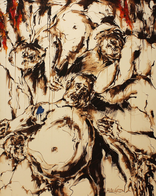 """, 'Roscoe """"Fatty"""" Arbuckle in Purgatory, as Witnessed by Peter Paul,' 2016, Kiechel Fine Art"""