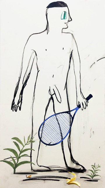 , 'Tennis,' 2014, Freight + Volume