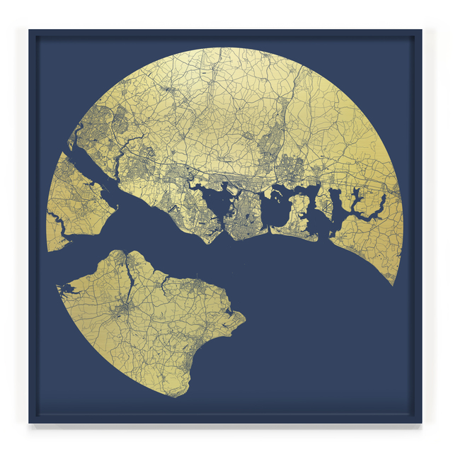 , 'Portsmouth Mappa Mundi, America's Cup,' 2017, TAG Fine Arts