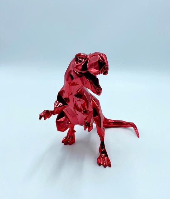 Richard Orlinski, 'T-Rex Spirit (Red Edition)', 2020, Sculpture, Resin in high-gloss red finish, Samhart Gallery