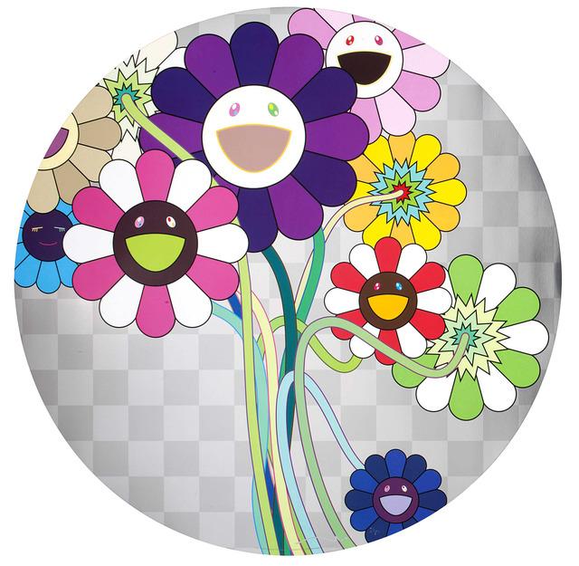 Takashi Murakami, '紫色の花のある花束 Purple Flower in a Bouquet', 2010, Der-Horng Art Gallery