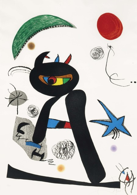 Joan Miró, 'Barbare dans la neige', 1976, Christie's