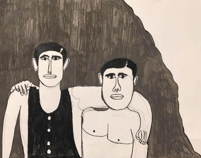 Byron Smith, 'Male Models', 2017, ArtYard