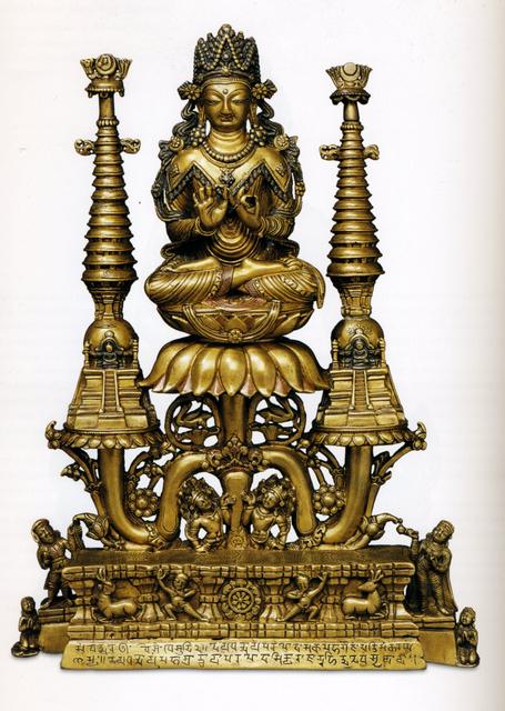 , 'Crowned Buddha Shakyamuni ,' ca. 8, Rubin Museum of Art