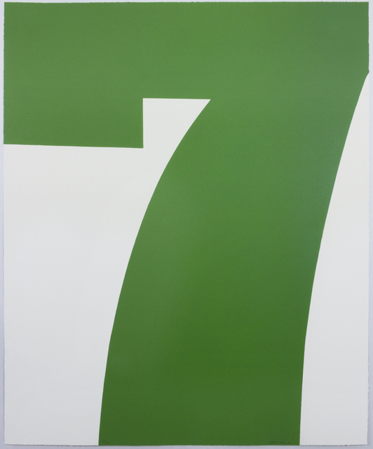 , 'Green Seven,' 2016, Tamarind Institute