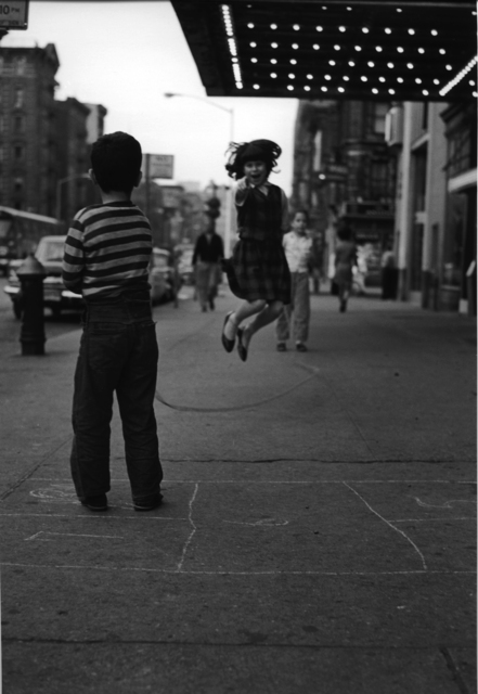 , 'Untitled (Girl Jumping Rope on 14th Street),' 1961, L. Parker Stephenson Photographs