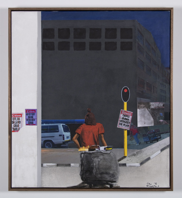 , 'Waiting for green,' 2018, Goodman Gallery