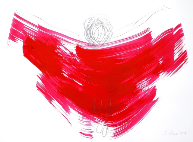 , 'The Red Cloth 3 (framed),' 2013, Artspace Warehouse