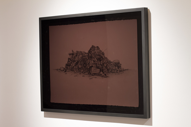 Simon Bilodeau, 'Ce que l'on ne voit pas qui nous touche: dessin', 2012, Art Mûr