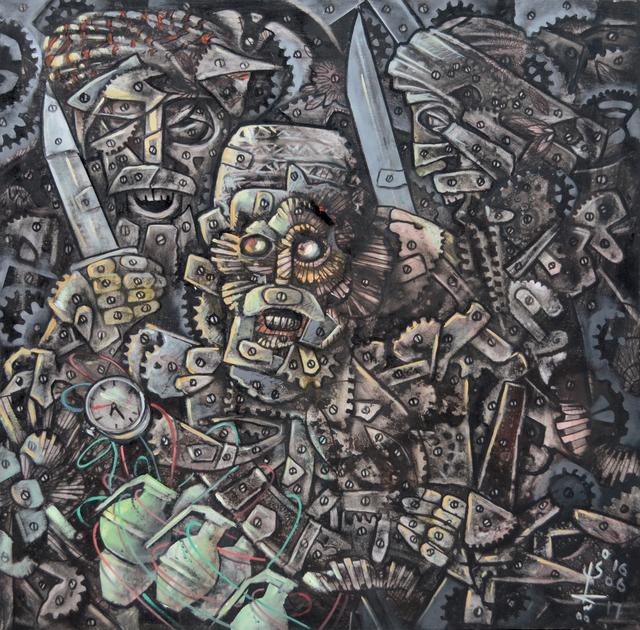, 'The Gaze,' 2017, Sanat Initiative
