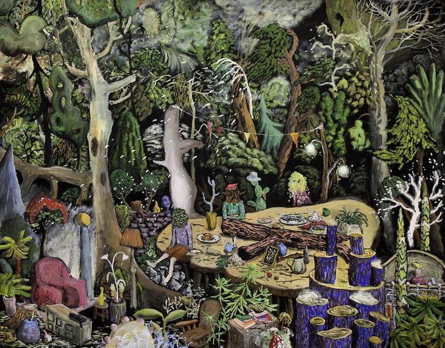 , 'Green Master,' 2016, Galerie Laroche/Joncas