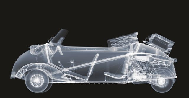 , 'Messerschmitt 201 Roadster,' 2016, Galerie de Bellefeuille