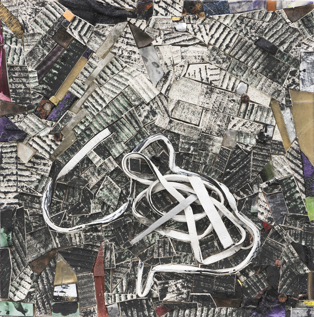 Jack Whitten, 'Compressed Space IV', 2015, Painting, Zeno X Gallery