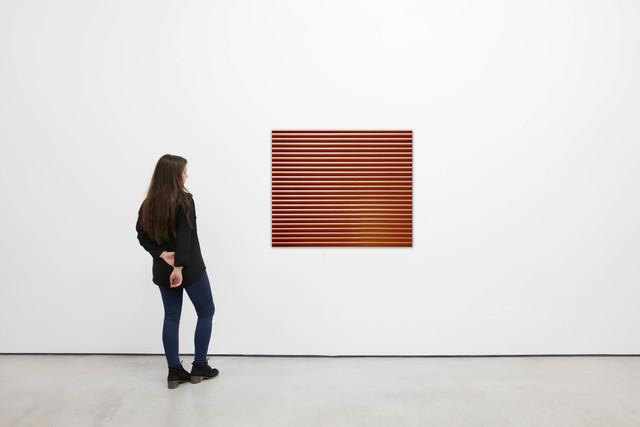 """, 'Venetian Blinds """"Red"""",' 1971-2013, Galería Cayón"""