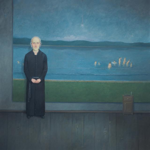 , 'Interior com Banhistas na Paisagem [Landscape Interior with Bathers],' 2014, Zipper Galeria