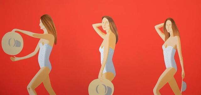 , 'Ariel-Red,' 2016, Vertu Fine Art