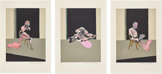 Triptyque Août 1972 (after, Triptych August 1972)