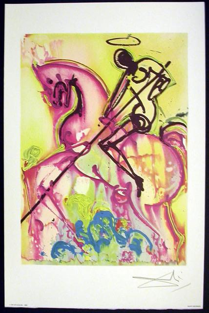 Salvador Dalí, 'Saint Georges', 1983, Print, Lithograph on vélin d'Arches paper, Samhart Gallery
