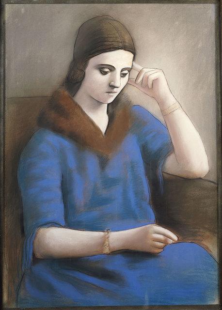 , 'Olga penseive,' , Musée Picasso Paris