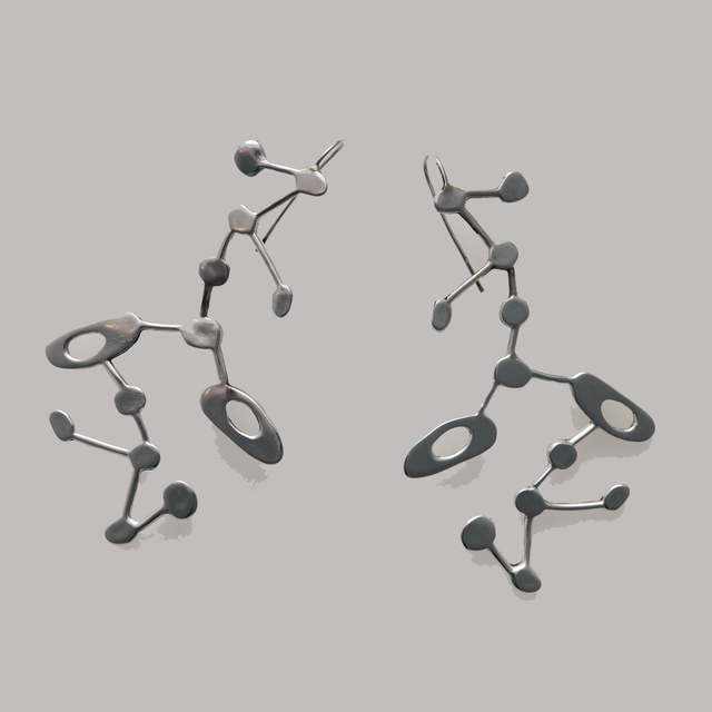 , 'Constellation Earrings,' 2012, Pan American Art Projects