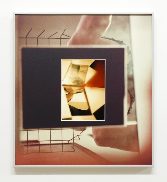 , 'Splintered Hinge, overlay,' 2015, Simone Subal