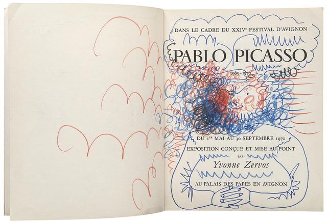 Pablo Picasso, 'Homme barbu', 1970, Beck & Eggeling