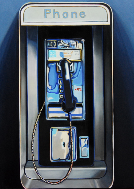 , 'Pay Phone,' 2015, Sue Greenwood Fine Art