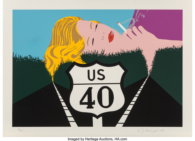 Allan D'Arcangelo, 'Smoke Dreams', 1980, Heritage Auctions