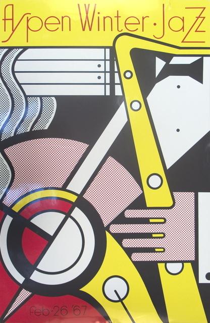 Roy Lichtenstein, 'Aspen Jazz', 1967, Ephemera or Merchandise, Silkscreen, ArtWise