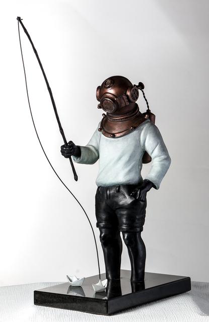 , 'Diver,' , Espaço 670