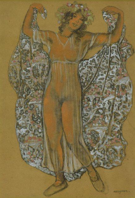 George Manzana-Pissarro, 'Oriental Dancer', ca. 1910, Stern Pissarro