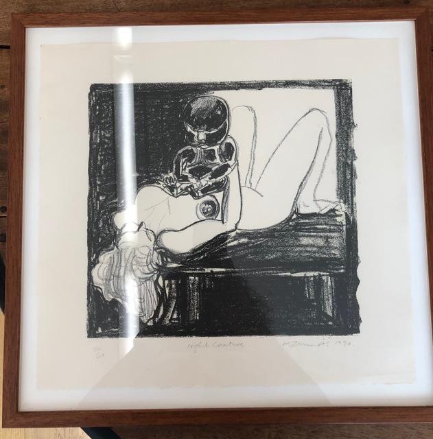 , 'Night creature,' 1990, Flatland Gallery