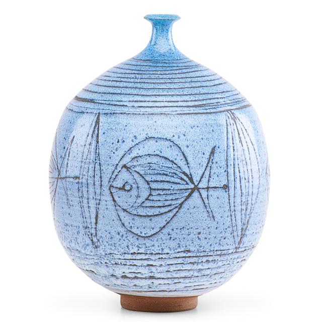 Antonio Prieto, 'Vase with fish, California', Rago