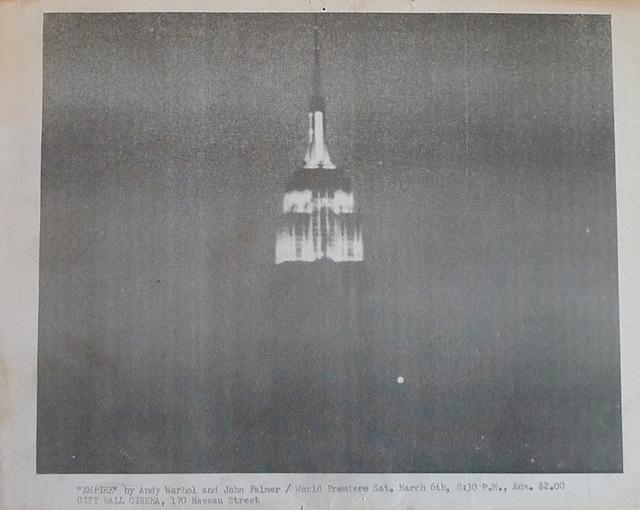 Andy Warhol, 'Empire', 1965, Bengtsson Fine Art