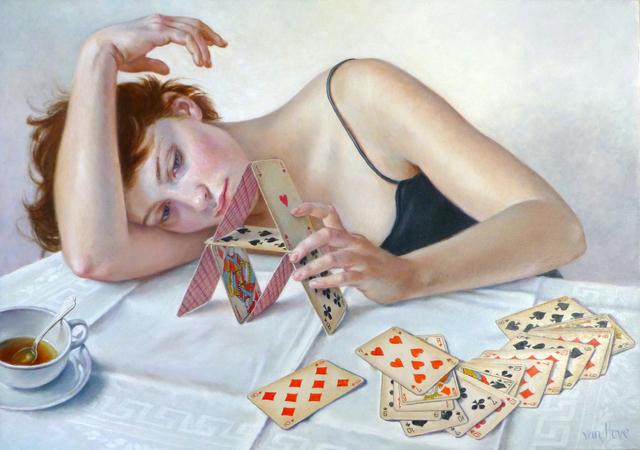 , 'Le Château de cartes,' 2015, Galerie de Bellefeuille