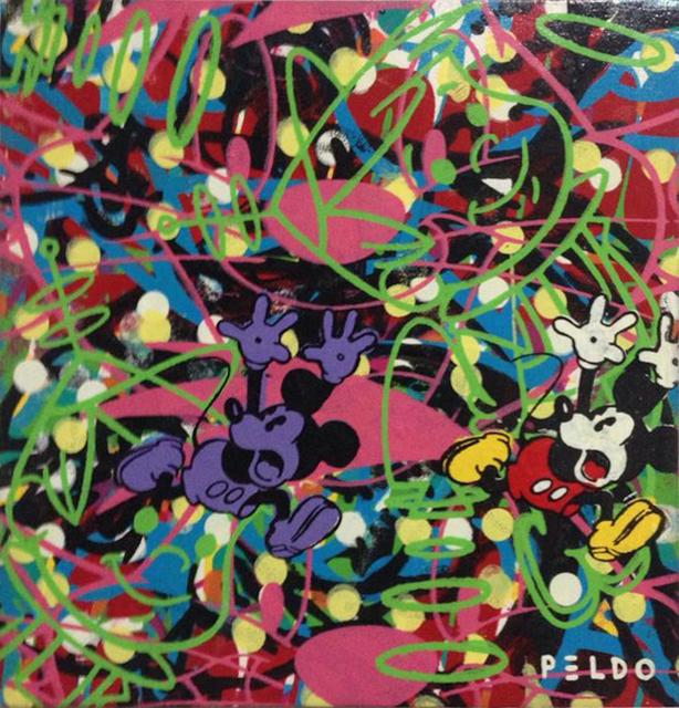 Chris Peldo, ' Screaming Purple Mickey', Gildea Gallery