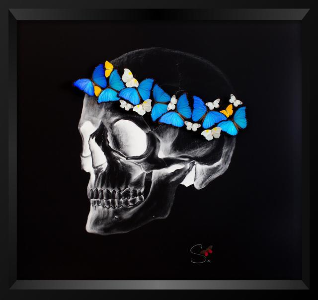 , 'Negative skull,' 2017, Eden Fine Art