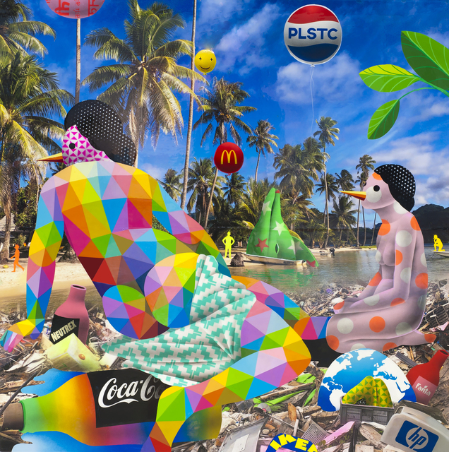 , 'Venus Relaxing at the Trash Paradise II,' 2018, Mirus Gallery